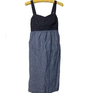 Style & Co chambray sun dress size medium EUC